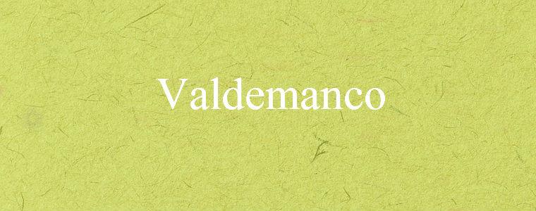 Valdemanco