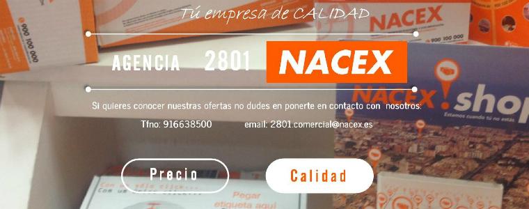 Calidad vs precio Propiedad Nacex - Liberacion 2000