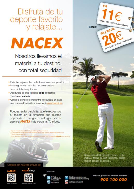 cartel-nacex-promo-golf-envio-equipaje-nacex-precios-2016