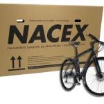 Nacex Bicibox (para transporte de bicicletas), de 140x25x80cm