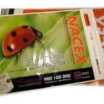Nacex bag (sobre burbuja), de 32x42cm y con solapa de 6'5cm