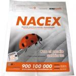 Nacex Pack, de 49'5x50cm y con solapa de 10cm